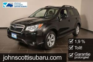 2015 Subaru Forester Touring 1.9% Manuelle