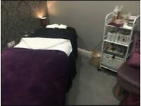 Two beauty rooms available to rent in a busy salon in Finchley