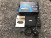 Kodi TT M8 Android TV Box Octa Core GPU & remote - Boxed