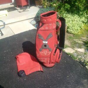 Golf Bag for Dog Lover