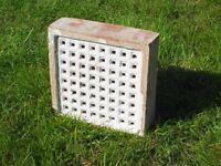 Terracotta 9 inch square Air Brick
