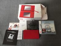 Boxed Nintendo ds lite with games