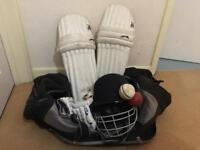 Slazenger cricket gear