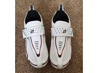 MUDDY FOX ROAD CYCLING SHOES SIZE 10