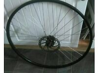 29ER FRONT QUICK RELEASE WHEEL COMPLETE WITH DISC.