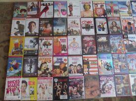 VARIOUS DVD'S '50 IN TOTAL'
