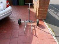 Adjustable maver fishing Trolley