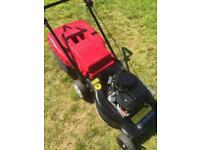 """Mountfield 17"""" cut push mower in good condition lawnmower starts easily"""