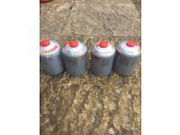 Fishing gas cannisters