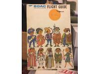 Job lot collection of vintage airline memorabilia, BEA, BOAC etc
