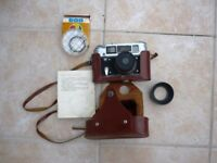 Fed 4 camera with case ,filter all in good condition