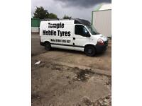 Mobile tyre fitting service