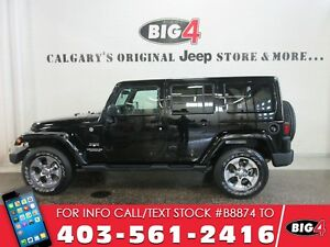 2016 Jeep Wrangler Unlimited Sahara | Navigation | Heated Seats