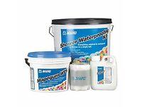 MAPEI shower waterproofing kit tanking membrane bathroom wetroom