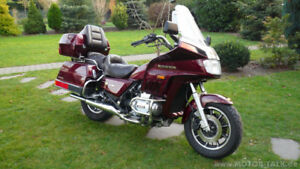 WANTED:Honda GoldWing GL 1100 to 1500 or SilverWing under 1000cc