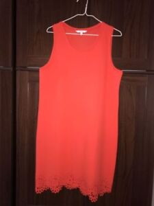 NEW Alfred Sung CORAL Dress w/ Eyelet Detail - Fits Medium/Large