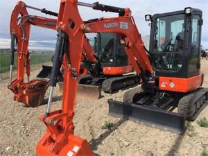 KUBOTA EXCAVATORS FROM YOUR LETHBRIDGE LOCAL KUBOTA DEALER