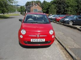 Fiat 500 Pop 3 Door hatchback 1.2L Low mileage 27852 oly £30 pound tex a year only 1 owner from new.