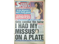 Cash paid for old Daily and Sunday Sport Newspapers
