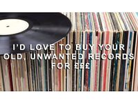 Vinyl record collections wanted for cash £££