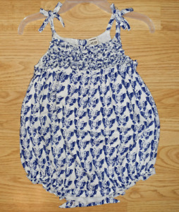 12-18m old navy bubble romper