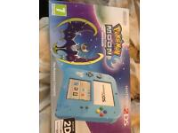 Pokemon moon 2ds boxed as new not 3ds