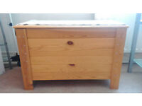 Natural Solid Pine Chest
