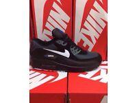 Black White & Black Nike Trainers Brand New