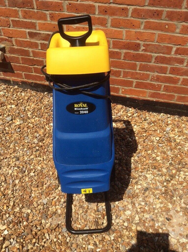 Electric garden shredder £35.00