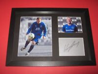 wayne rooney everton a4 mounted & framed picture