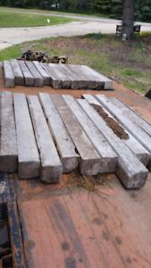 Concrete landscape edging blocks