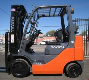 PROPANE FORKLIFT 2000 and 8000  lb.CAT,HYSTER,NISSAN and TOYOTA