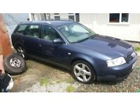2 x Audi A6's for Spares or Repairs (3.0 Quattro & 1.8T)