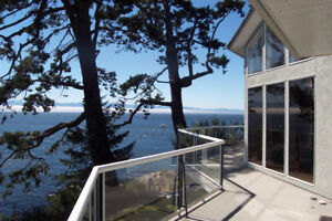Beautiful Oceanfront Acreage,Furnished, excl. Value,Vic,Sooke BC