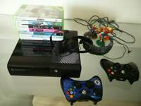 XBOX 360e - 250 GB/Go with games & accessories