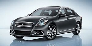 2013 INFINITI G37 Sedan ALL WHEEL DRIVE Accident Free,  Leather,