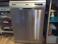 Zanussi Dishwasher - Less Than 2 Years Old