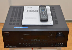 Onkyo TX SR 601 Receiver in a Good Working Condition