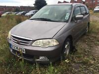 Honda Odyssey 2.2 Auto + SPARES AND REPAIRS