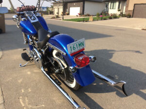 1996 heritage softail mint like new