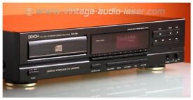 Denon Stereo CD Player DCD-580. Black, with remote and user manual