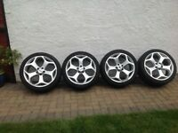 Ford Focus ST 2007 Alloy wheels and Tyres