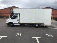IVECO DAILY LWB LUTON FURNITURE DROP WELL TWIN WHEEL ONE OWNER £2450 NO VAT!!!