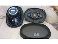 Kenwood 6x9 Speakers KFC-6907""