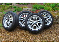 BMW 16 inch Alloy Wheels (tyre size 205/55/R16)