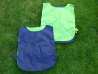 Double sided training bibs x 18