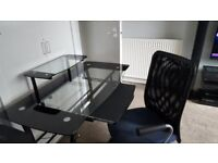 lovely glass comuter table