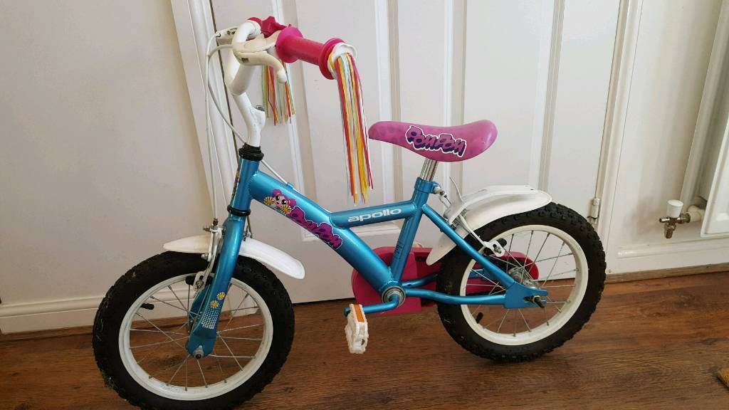 14 inch Apollo girls bike