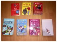 7x David Walliams Book good condition all for £10 millbrook oos