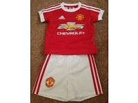 Manchester United Kit Baby 0-3 Months Adidas